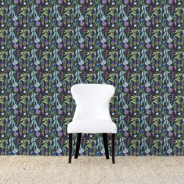 AphroChic Dunham Removable Wallpaper