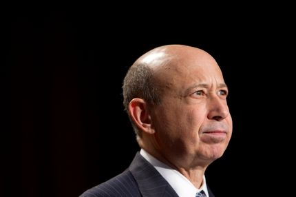 Lloyd Blankfein, chairman and chief executive officer of Goldman Sachs Group Inc., speaks at the CARE conference in Washington, D.C., U.S., on Wednesday, March 9, 2011. Blankfein agreed to be a prosecution witness in Galleon Group LLC co-founder Raj Rajaratnam's insider trading trial this week, said a person briefed on the matter. Photographer: Andrew Harrer/Bloomberg via Getty Images