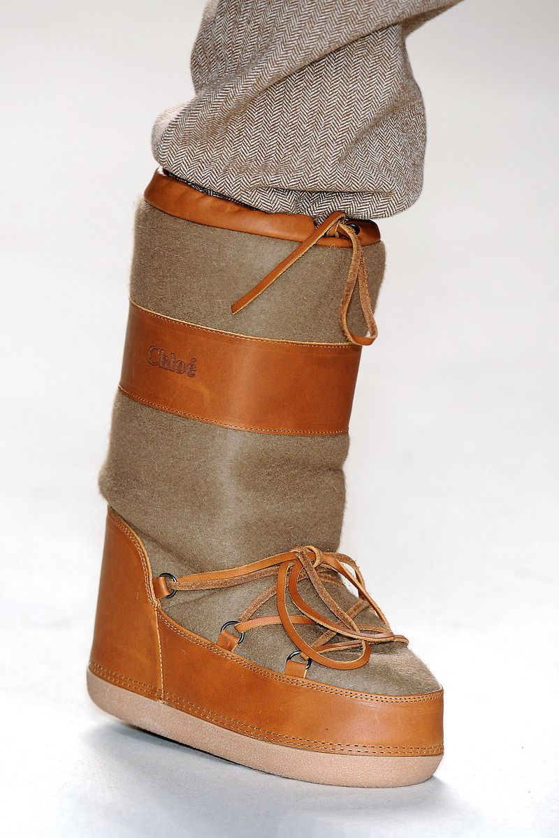 Designer Moon Boots The Aughts 50 Ugliest Shoes The Cut