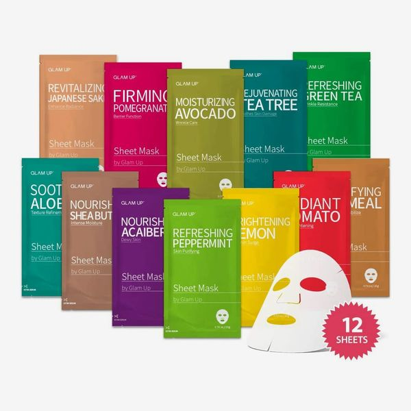 Sheet Mask Collection (Pack of 12)