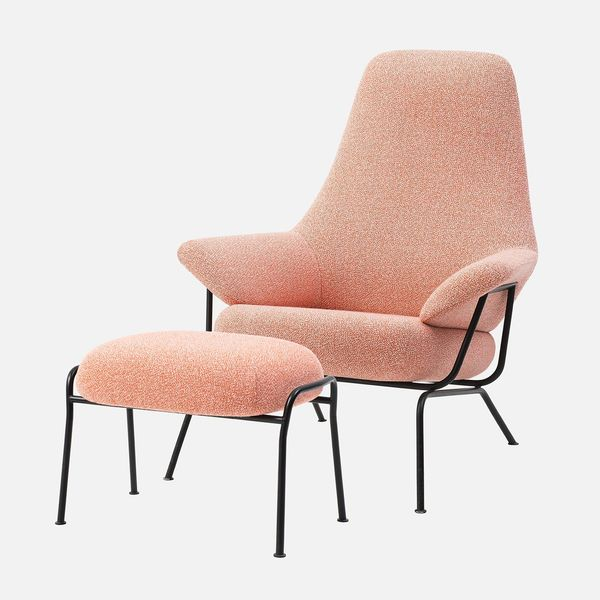 Hai Lounge Chair + Ottoman by Luca Nichetto