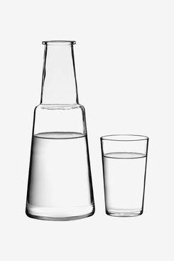 Premier Housewares Glass Carafe and Tumbler Set