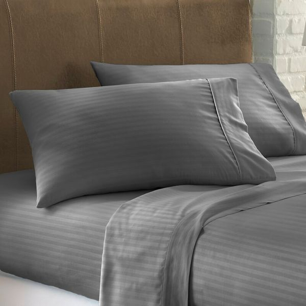 The Twillery Co. Franky Striped Sheet Set (Queen)