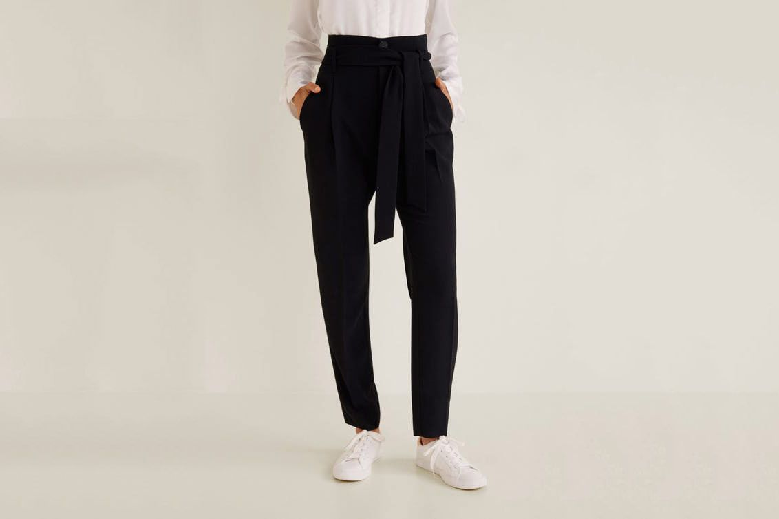 Mango Loops High Waist Trousers