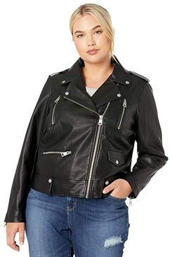 Levi's Plus Size Faux Leather Moto Jacket