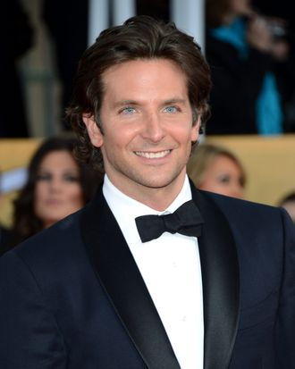 Actor Bradley Cooper attends the 19th Annual Screen Actors Guild Awards at The Shrine Auditorium on January 27, 2013 in Los Angeles, California.