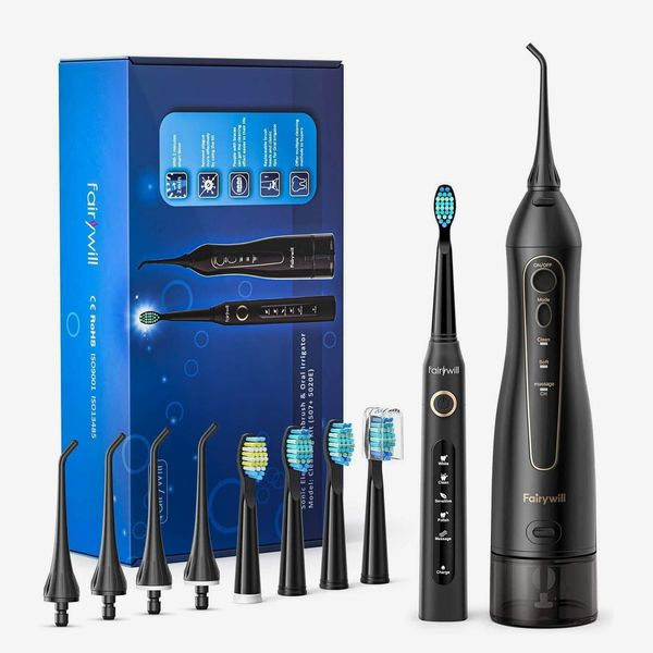Fairywill Water Flosser and Electric Toothbrush Set