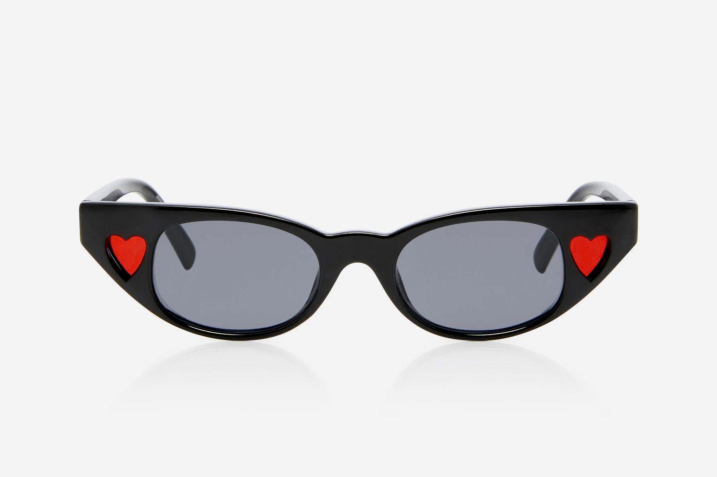 Adam Selman X Le Specs The Heartbreaker Cat-Eye Sunglasses