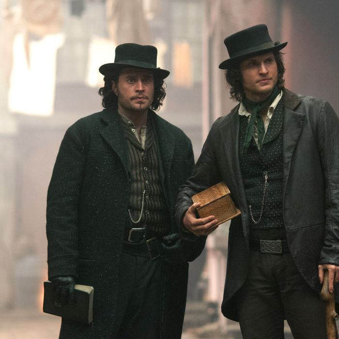 Tom Weston-Jones as DETECTIVE KEVIN CORCORAN and Kevin Ryan as FRANCIS MAGUIRE