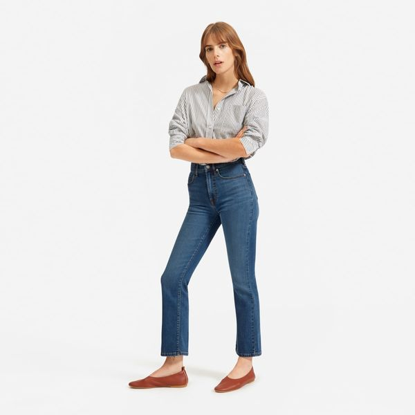 everlane skinny bootcut stretch jeans - stategist cyber monday