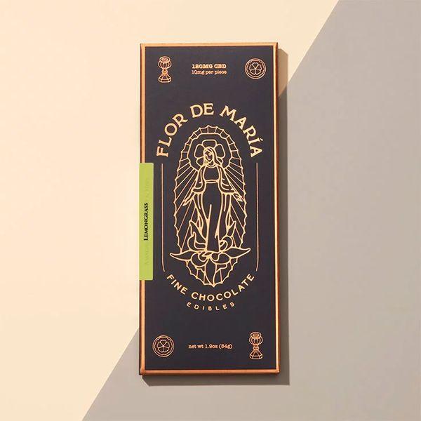 Flor de Maria CBD Lemongrass Chocolate, 10 mg