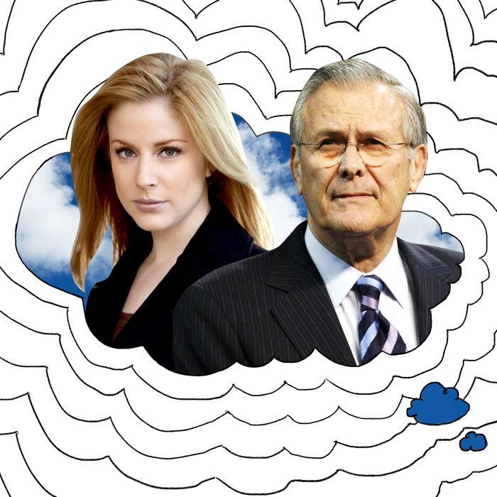 ADA Novak, Donald Rumsfeld.