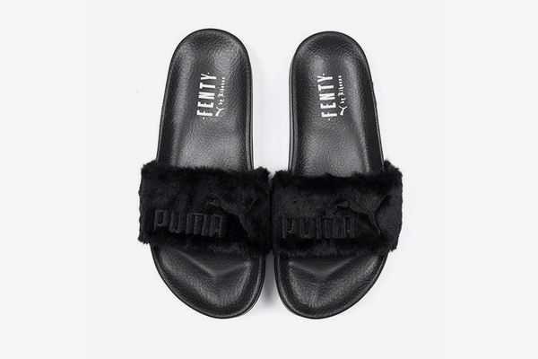 Rihanna X Puma Leadcat Fenty Fur Sandals