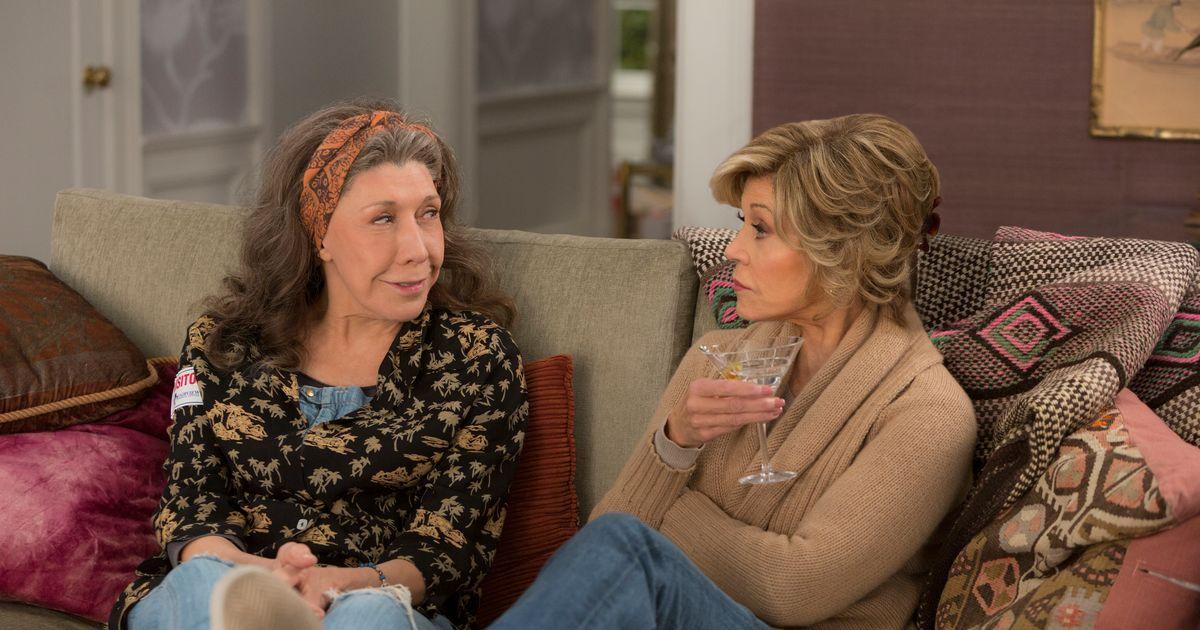 Grace and Frankie Season Premiere Recap: Don't Enable Him