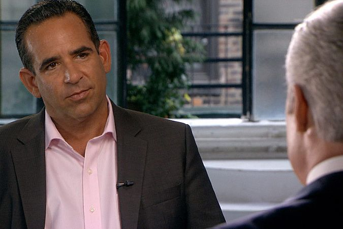 Anthony Bosch shown in his interview in New York with Scott Pelley for the 60 MINUTES report on the case of suspended New York Yankee third basemen Alex Rodriguez broadcast on Jan. 12, 2014.