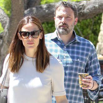 Jennifer Garner and Ben Affleck.