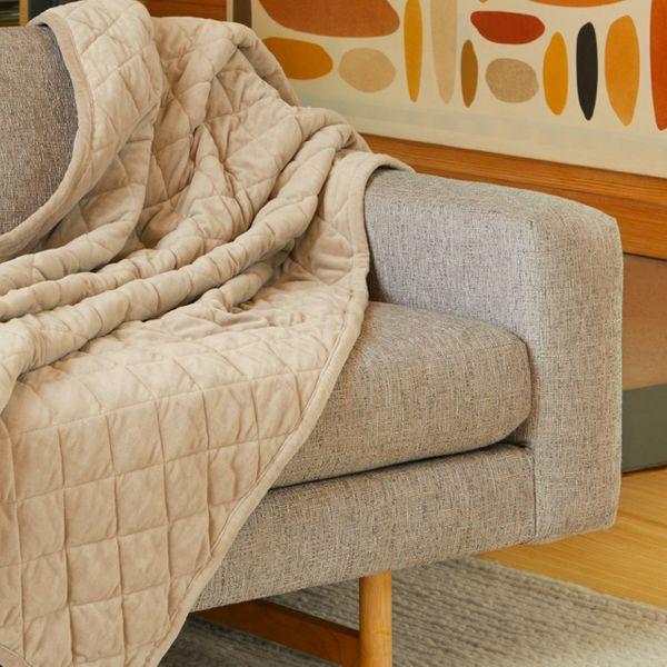 Saatva Organic Weighted Blanket
