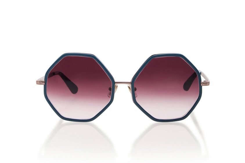 Rosie Assoulin Large Octagon Sunglasses