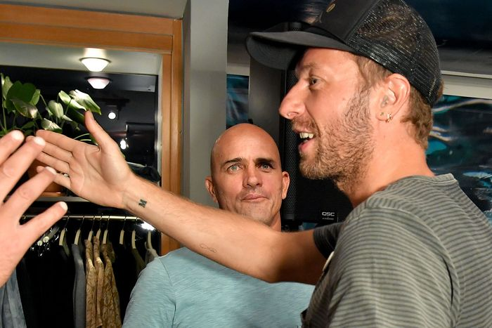 1e6582411 Chris Martin and his tattoo and other people. Photo: Rob  Latour/WWD/REX/Shutterstock