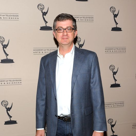 Writer Greg Daniels arrives at the Academy of Television Arts & Scienes' Writers Peet Group Emmy Celebration at the Academy of Arts and Television Sciences on August 24, 2010 in North Hollywood, California.