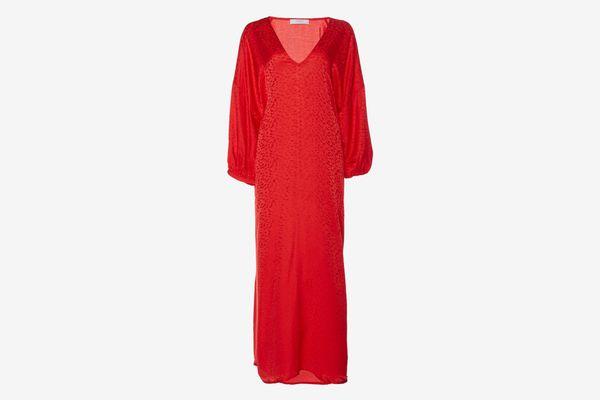 Roseanna Ferrari Season Puff Sleeve Dress