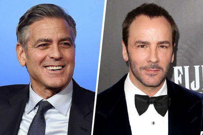 George Clooney; Tom Ford.