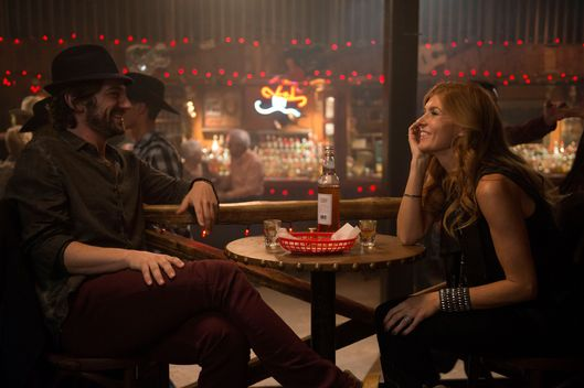 "NASHVILLE - ""There'll Be No Teardrops Tonight"" - Rayna finds comfort in the arms of an old friend after revealing to Daphne and Maddie her plans to divorce. Juliette is invigorated by the response to her new sound and takes steps to reinvent herself -- against the guidance of her management. Things are looking up for Scarlett and Gunnar when Rayna makes an offer to sign them to her label. While their hard work begins to show signs of success, Avery struggles to find his old sound and is forced to consider an attractive offer, on ""Nashville,"" WEDNESDAY, FEBRUARY 13 (10:00-11:00 p.m. ET) on the ABC Television Network. (ABC/KATHERINE BOMBOY-THORNTON)MICHIEL HUISMAN, CONNIE BRITTON"