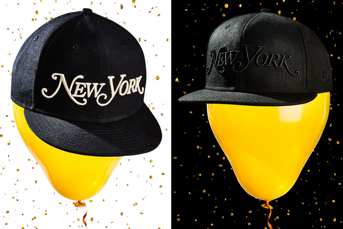 New York T-shirts and caps