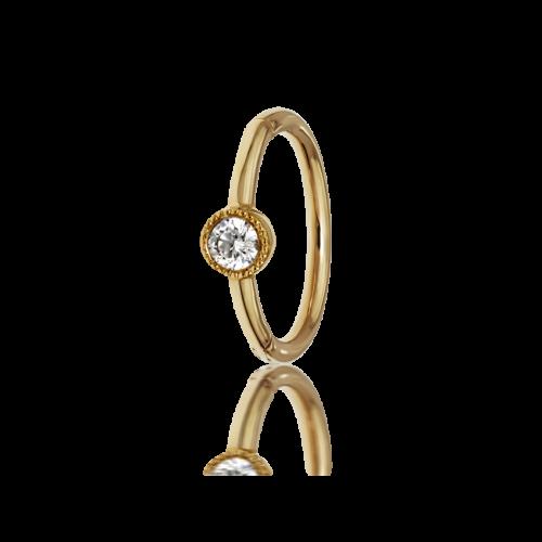 Maria Tash 8mm Scalloped Diamond Clicker