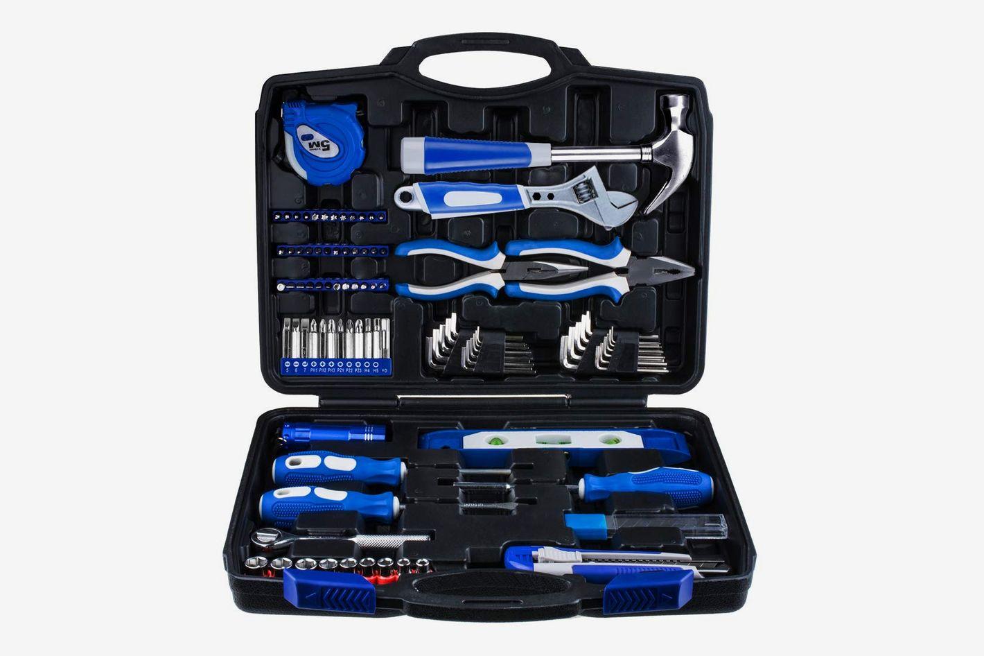 Vastar Home Repair Tool Kit, 102-Piece