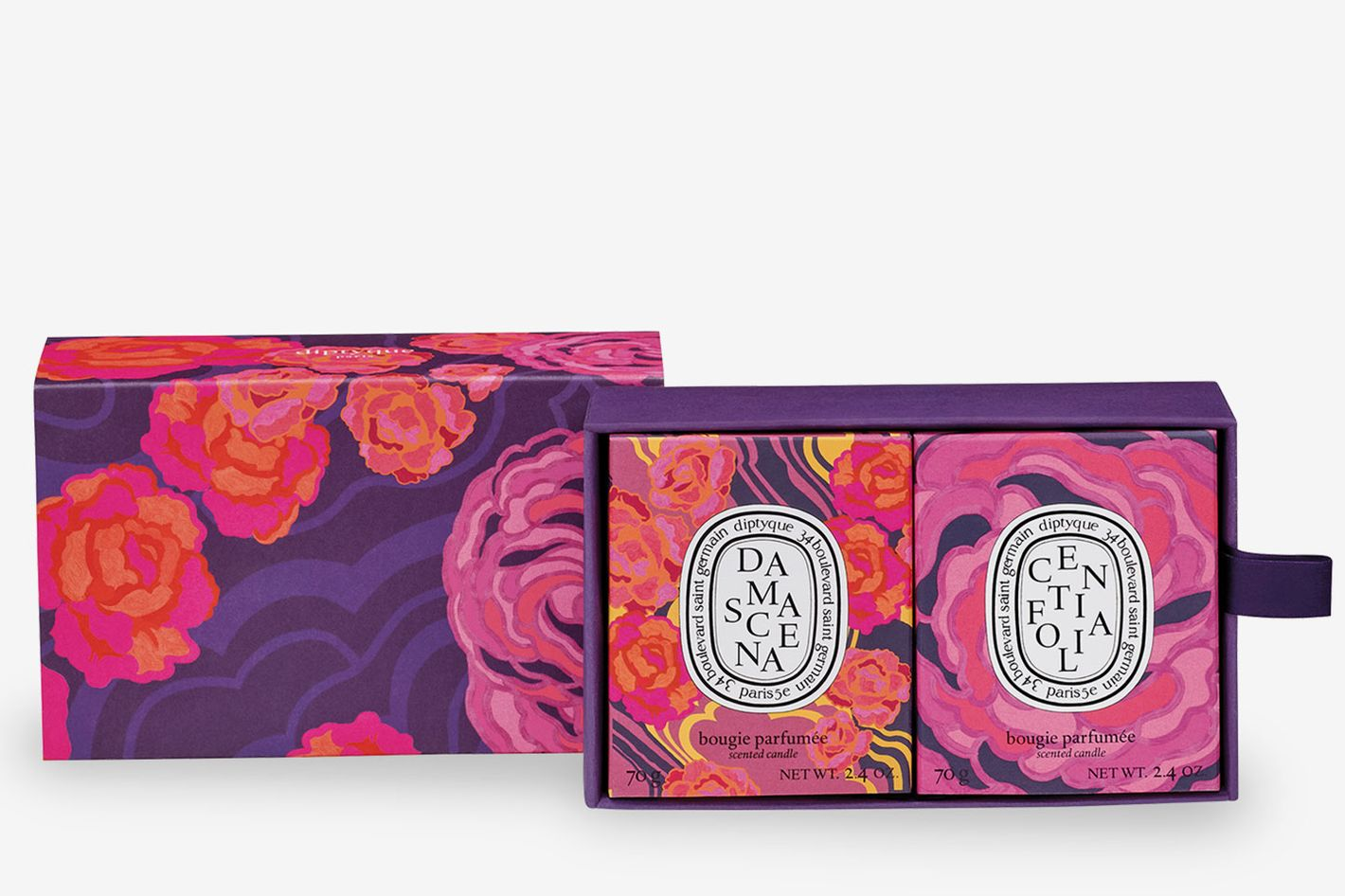 Diptyque Roses Scented Candle Set