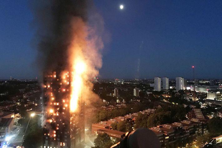 Unprecedented Fire Destroys London Apartment Building