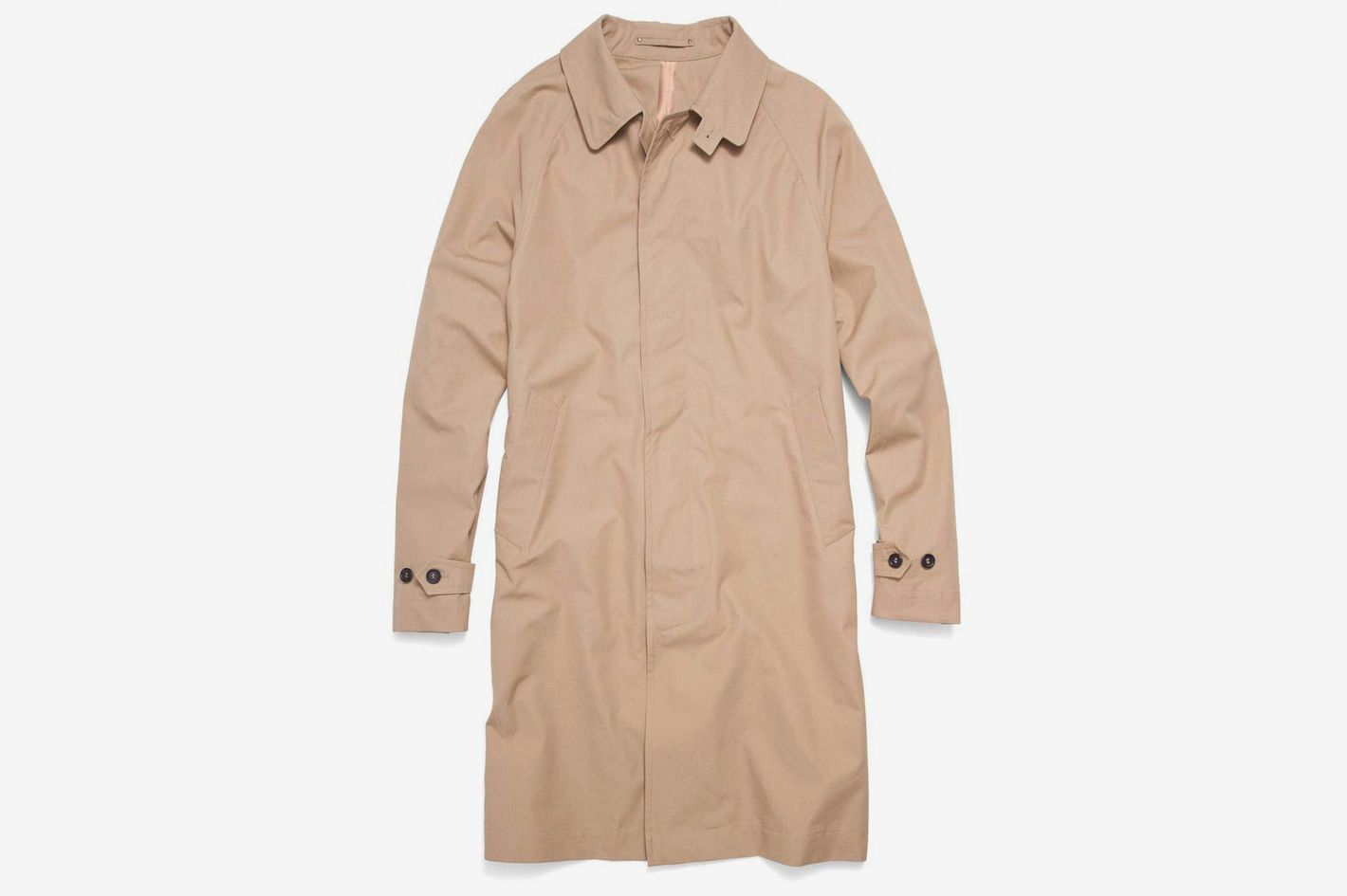3d2e85080 Todd Snyder + Private White V.C. Khaki Trench Coat