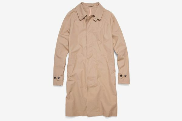 Todd Snyder + Private White V.C. Khaki Trench Coat