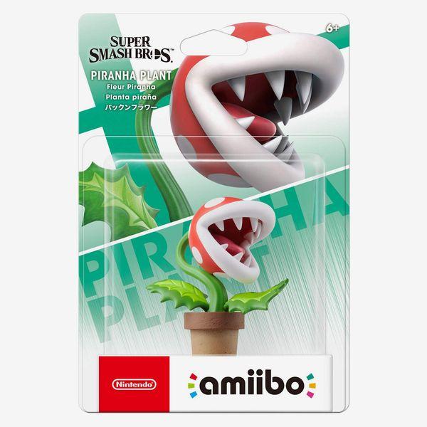 Amiibo de Nintendo - Planta piraña - Serie Super Smash Bros.