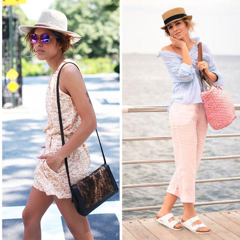 14 Ways to Wear a Summer Straw Hat e10733e7806f