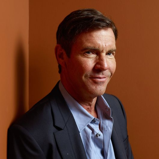 "Actor Dennis Quaid of ""At Any Price"" poses at the Guess Portrait Studio during 2012 Toronto International Film Festival on September 9, 2012 in Toronto, Canada."