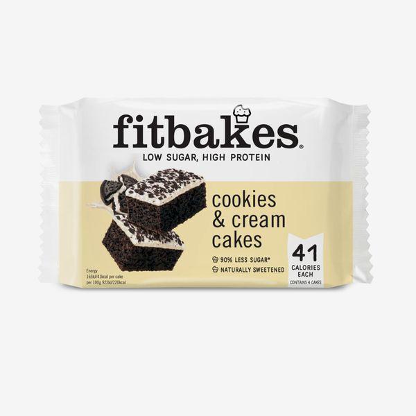 FitBakes Cookies & Cream Cakes