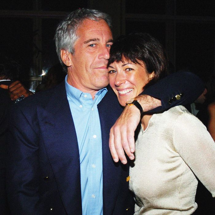 Jeffrey Epstein with Ghislaine Maxwell in 2005.