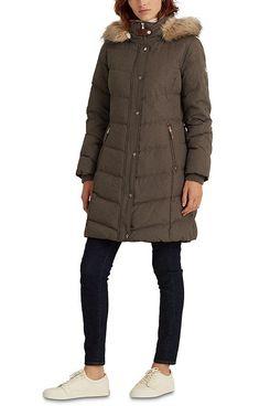Lauren Ralph Lauren Hooded Down Coat