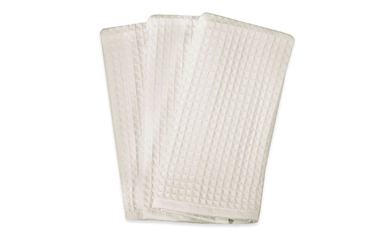 Real Simple Microfiber Kitchen Towels in White (Set of 3)