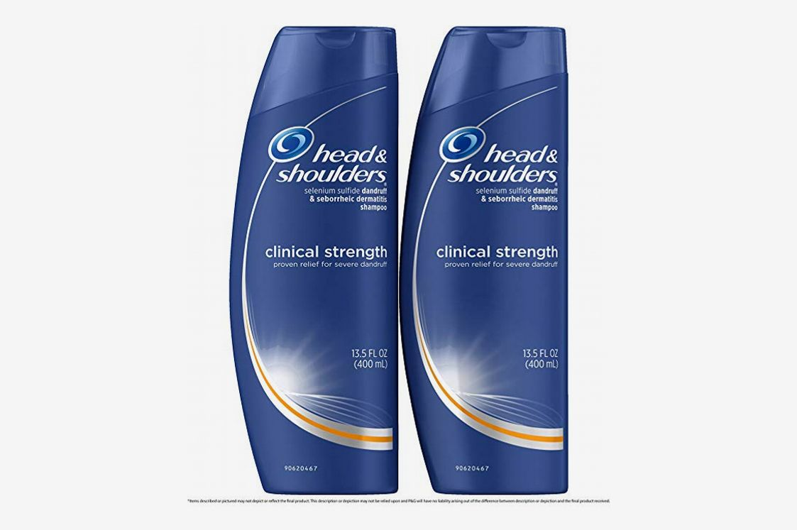 Head and Shoulders Anti Dandruff Clinical Strength, Seborrheic Dermatitis Shampoo,