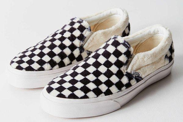 Vans Faux Sherpa Classic Slip-on Sneaker