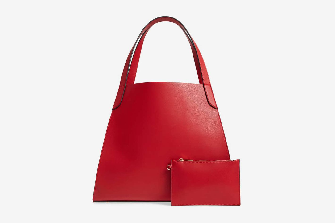 Leith Trapezoid Faux Leather Tote
