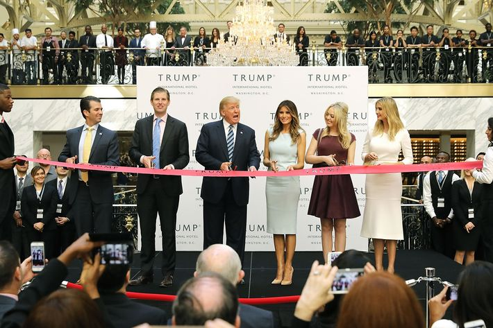 For foreign diplomats, Trump hotel is place to be