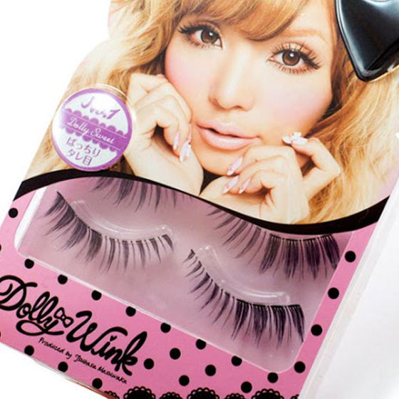 "In Japan, everyone wears <a href=""http://www.amazon.com/Koji-Dolly-Eyelashes-Tsubasa-Masuwaka/dp/B003H7IKFA/ref=pd_sim_hpc_1"">fake lashes</a>, from the McDonald's cashier handing you Fish McBites (their localized pescatarian take on the chicken nugget) to your bank teller, who is your mom's age, dressed in a three-piece suit, to the department-store concierge who wears mini sailor outfits and greets you with <i>ohayou </i>(Japanese for <i>good morning</i>). The widespread use of <a href=""http://www.amazon.com/Koji-Dolly-Eyelashes-Tsubasa-Masuwaka/dp/B003H7IKFA/ref=pd_sim_hpc_1"">fake eyelashes</a> means high-quality options are plentiful. Want Harajuku-length eyebrow sweepers with crystals at the end? Want them dyed neon yellow to look like they were plucked from Big Bird's bottom? Japan has them, along with more conventional, <a href=""http://nymag.com/thecut/2011/03/the_kate_middleton_look_book.html"">Kate Middleton</a>—approved options. The included eyelash glue for even the cheapest of fakes is properly adhesive without being tacky, and doesn't tear off any of your real lashes when you're ready to retire them at the end of the night. They are all so good that Maki and I don't even have a preferred brand."