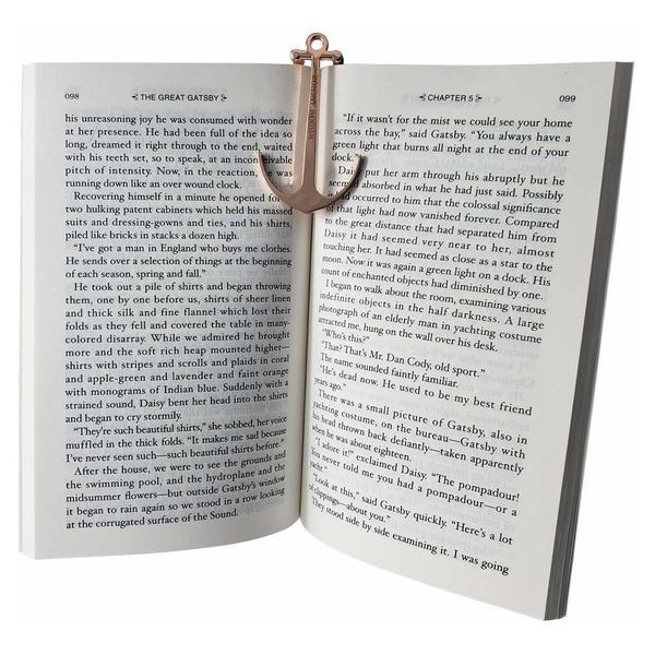 Ozzptuu Metal Anchor Bookmark
