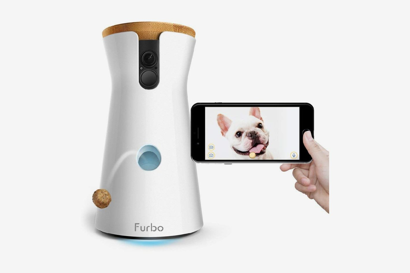 Furbo Full HD Wifi Pet Camera Treat Dispenser And 2 Way Audio