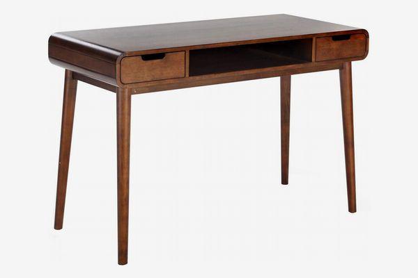 Belham Living Carter Midcentury Modern Writing Desk