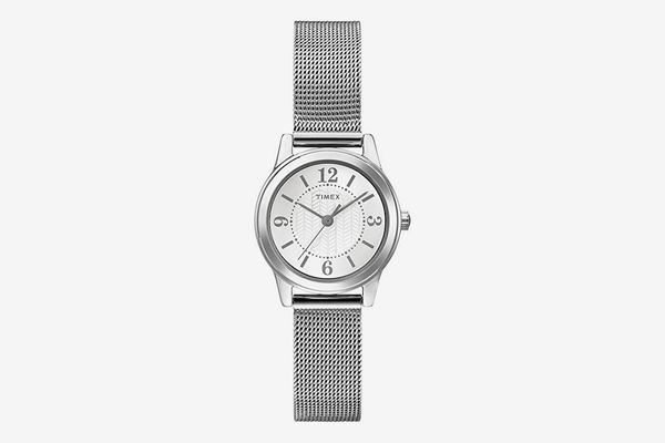 Timex Women's Casey Silver-Tone Stainless Steel Watch